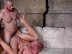 Hung hunk ass pounded