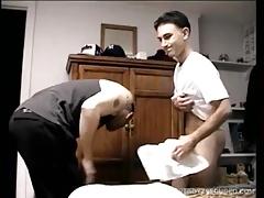 Vinnie Sucks Off Amateur Straight Boy Paulie