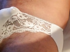 Streatched white panties