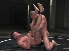Nick Moretti gets his mouth and ass smashed on tatami