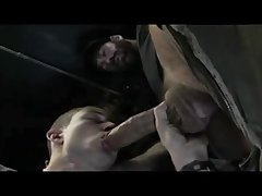 Twink Gives Trucker A Masterful Blowjob