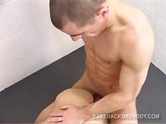 Daddy and Twink Flip Fuck Bareback