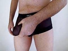 boy shorts pull down