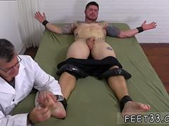 Gay twink foot worship stories and black job Clint Gets Naked Tickle Treatment