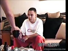 Sucking Off Amateur Straight Latino Paco