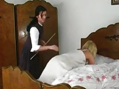 Spanked in Bed