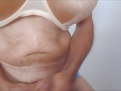 a good handjob and a lot of cum (+ slow motion)