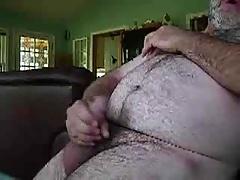 chubby daddy bear jerk off