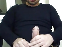 Hot turkish with huge dick at the office