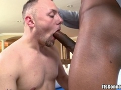 Cole McKenzie sucks a BBC and gets his gay ass pounded from behind