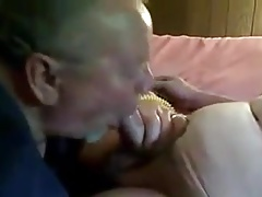 Gay mature older men sucking a nice small cock