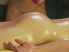Intimate Touching Loving Massage Partners