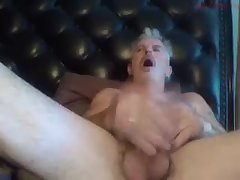 Mature stud smashes his cock