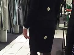 Karen Millen skirt suit (non sexual)