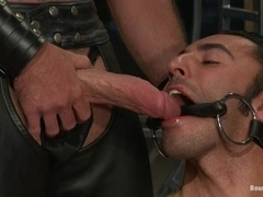 Gianni Luca and Van Darkholme get tormented by a mighty dominator