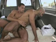 Lads gets down and dirty one other guy for cash