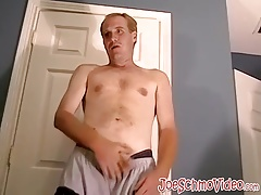 Horny white guy needs a giant black cock to suck and ride