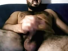 Hairy Italian Str8 Daddy Shoots a Nice Load #162