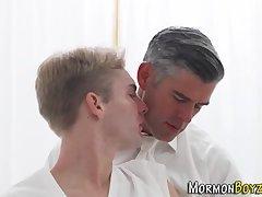 Religious mormon gets cum