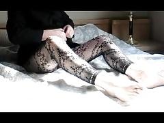 fisting transvestite sissy anal lingerie nylon gay sextoy