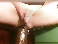 WHITE SISSY'S EXTREME CUNT GAPE AND BIG BLACK  TOYS