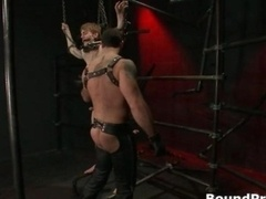 Noah gets strung up and furthermore tortured gay
