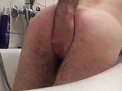anal fisting and big beer bottle in my ass