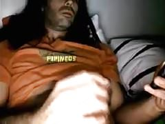 Spanish Bigdicked Str8 Guy Dumps his Load in a TrashCan #144