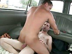 Straighty fucks gay ass for cash