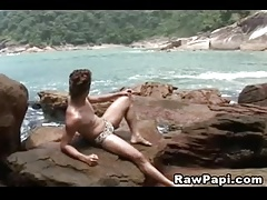 Papi Kenzo Being Banged Outdoors