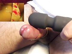 Wand ejaculation tribute