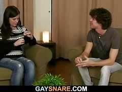 What a gay surprise for him!