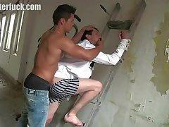 Naughty guys enjoy oral & rimjob