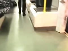 Risky Public Transit Blowjob