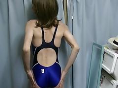blue racingswimsuit (CD)