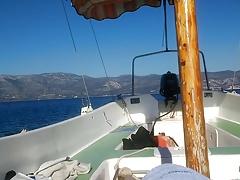 Wilderness wank 3. I'm on a boat