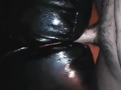 leather couch sofa hump cum
