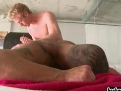 Large dude loves how jock gets down and dirty him