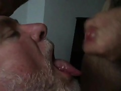 Married man feeds me his cum