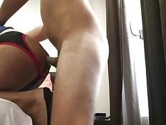 I got fucked by hot sexy Spanish guy