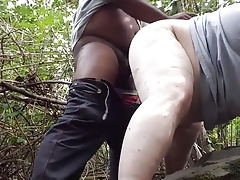A Black take me in the Woods