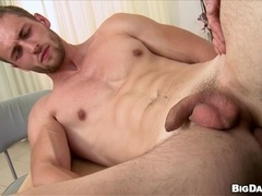 Handsome homo Samuel gets his butt fingered and fucked