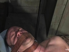 Park Wiley gets his cock whipped and his mouth fucked by Tyler Saint