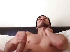 Big cock guy masturbation (nocum)