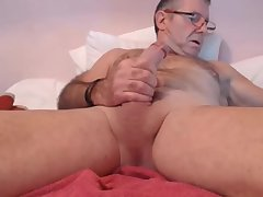 Hot Daddy Wank and cums