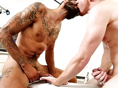 NextDoorEbony Redhead Topped by Long Black Dick