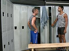 Big Dick Cuties Fucking In The Locker Room