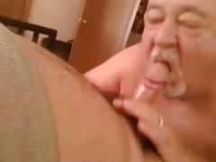 grandpa love sucking cock till cum