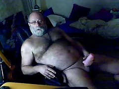 Old Man cumming 2
