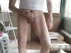 I took my panties off to masturbate.